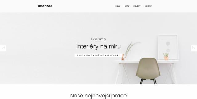 INTERIOOR.cz - Komplexní návrhy interiérů