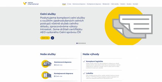 VAMAR.cz - Logistika na míru zákazníka
